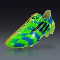 adidas F50 adizero Crazylight FG - Neon Orange/Black/Neon Green Firm Ground Soccer Shoes | SOCCER.COM