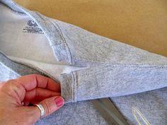 WobiSobi: Off the Shoulder Sweatshirt: DIY.