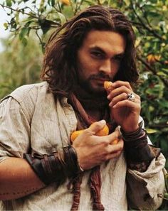 Take time enjoy the small things. Jason Momoa