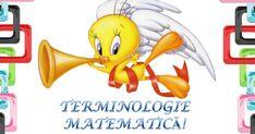 S.T.R.U.M.F.: Terminologie matematica cu Tweety Numbers Preschool, Tweety, Math, Fictional Characters, Math Resources, Fantasy Characters, Mathematics