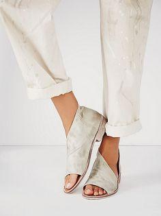 Mont Blanc sandals - Dove Grey