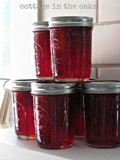homemade strawberry jam #recipe