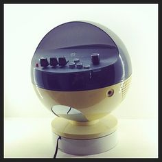 Radio Weltron Space Age Spaciale G1 Vintage Anni '70