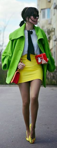 Preppy Chic Outfit Idea by J'adore Fashion