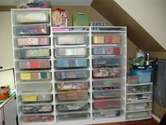 A Ditchin' Time Quilts: My Fabric Storage Solution