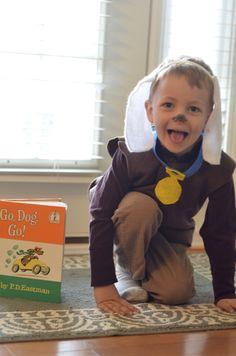 Go, Dog, Go! - for Dr. Seuss' birthday