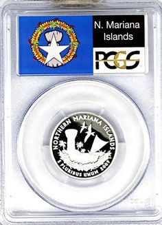 2009-S Northern Mariana Islands Silver Quarter PCGS Proof 69 DCAM brandywinegeneralstore.com #collectible #coins