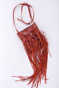 Leather bag by Kadri Kruus