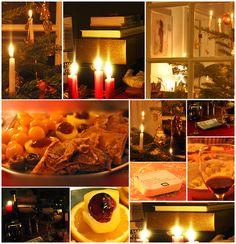 Juleaften-glimt (Christmas Eve) in Denmark - and in Danish