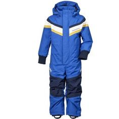 Romme Coverall from Didirksons Performance ski suit or all in one for outdoor fun - Indigo Blue