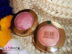 L & S BEAUTY: Coup de coeur : Milani baked blush Dolce Pink & Lu...