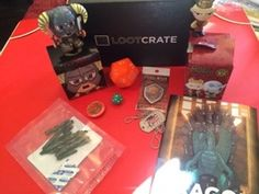 @Loot Crate April 2014 Dragon themed subscriptionbox was a hit! Review at subscriptionist.com