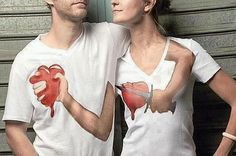 20 Most Interesting and Creative Optical Illusion T-Shirt Designs – BemeThat Great T Shirts, T Shirts For Women, Awesome Shirts, Robin, Love Is In The Air, Heart Shirt, Funny Shirts, Ideas, Lifestyle