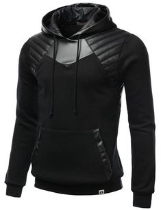 We've gathered our favorite ideas for Smithjay Mens Hipster Hip Hop Leather Padding Hoodie, Explore our list of popular images of Smithjay Mens Hipster Hip Hop Leather Padding Hoodie in hipster work clothes. Urban Fashion, Mens Fashion, Fashion Outfits, Hip Hop Outfits, Cool Outfits, Leather Hoodie, Mode Sombre, Moda Formal, Style Masculin