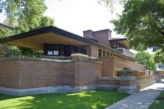Frank Lloyd Wright - Robie House by 'O Tedesc, via Flickr