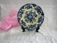 Assiette de collection ancienne ENOCH WEDGWOOD  par VintageSyell