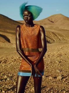Grace Bol, John-Paul Pietrus, Citizen K 2015, Black Fashion Models