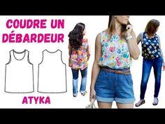 Coudre un Débardeur comme Atyka - Tutoriel Couture détaillé - YouTube Detaille, Blouse, Women, Diy, Fashion, How To Sew, Everything, Moda, Bricolage
