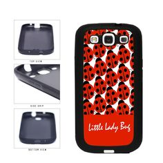 Little Lady Bug on Red Background With Lady Bugs TPU RUBBER Phone Case Back Cover Samsung Galaxy S3 I9300 includes BleuReign(TM) Cloth and Warranty Label. COMPATIBILITY: It is important to note that this case will ONLY FIT the Samsung Galaxy S3 I9300 Smartphone. Case will fit like a glove. COLOR: This case comes in a high quality color that will last the life of your phone. This is NOT a decal, skin or sticker. Our cases will not peel, fade or crack. We press the image onto a metal plate...