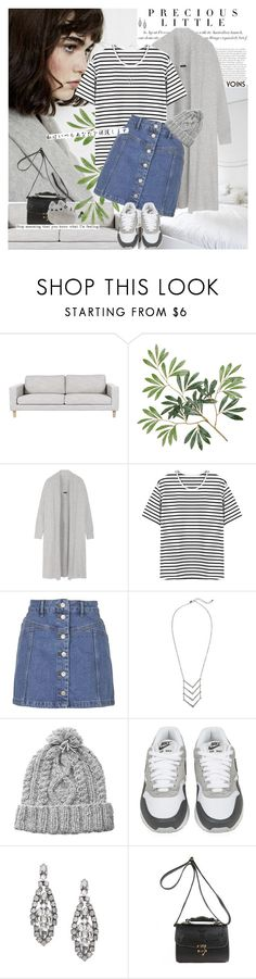 """""""how dare my skin break out just because of my terrible diet and total disregard of regimented skincare"""" by alienbabs ❤ liked on Polyvore featuring Agent Provocateur, Olsen, Joseph, Topshop, HANDSOM, NIKE and yoins"""