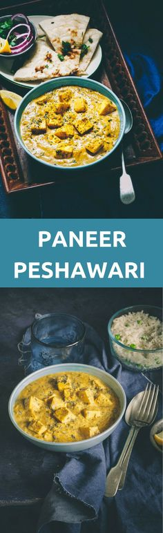w tofu instead of paneer and a handful of peas. Paneer Peshawari is a delicious Paneer Curry that can be stirred up in 30 minutes, still bringing the authentic Peshawari flavors. Paneer Recipes, Veg Recipes, Curry Recipes, Side Dish Recipes, Indian Food Recipes, Vegetarian Recipes, Cooking Recipes, Authentic Indian Recipes, Cooking Tips