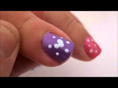 Mickey Mouse Easter Egg Disney Nail Art Tutorial!