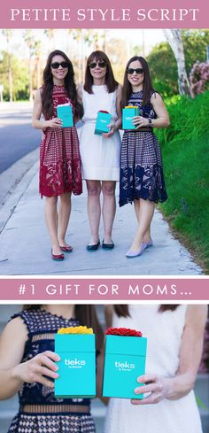 Why are Tieks the perfect Mother's Day gift? They are timeless! They cater to any age! They are wardrobe staples! They have 50+ designs! They match anyone's style! They are investments that will last years! They are easy to travel with! And the list goes on!