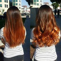 pumpkin spice hair color - Google Search