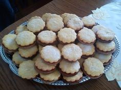 alpesi-teasutemeny Winter Food, Cookie Jars, Cake Cookies, Baking Recipes, Muffin, Food And Drink, Sweets, Drinks, Breakfast