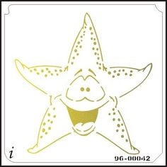 96-00042 Cartoon Starfish