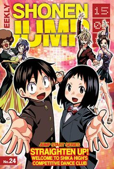 Shika High's Competitive Dance Club Manga Ends in Shōnen Jump on Monday     Takuma Yokota launched ballroom dancing series in May 2015        This year's 11th issue of Shueisha's Weekly Shonen Jump magazine will publish th... Check more at http://animelover.pw/shika-highs-competitive-dance-club-manga-ends-in-shonen-jump-on-monday/