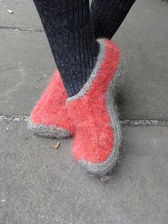 Ravelry: laurielamont's Wool Felted Slippers