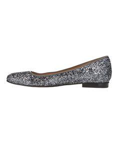 Lulu Glitter Flat Shoes