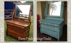 Oh how I love Empire style furniture. It's simple yet still has beautiful lines and details. This piece was a Craigslist splurge. I was just browsing around not looking for anything in particular and then BAM this popped up and next thing I know I'm hopping in the truck with my son and off we […]