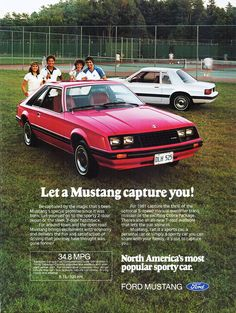 1981 Ford Mustang Hatchback....sorry but one of the many UGLY years for my fav car