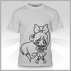 [AX2015 Exclusive] Crunchyroll x KOKOSAC Collaboration T-shirt: Hime Silver: From the classic that so many of us grew up with comes Totoro! This thirteen inch plush of the iconic Studio Ghibli character is soft to the touch and waiting for someone to take him home!