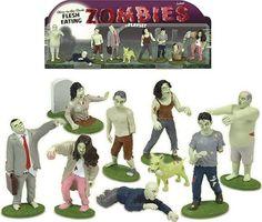 Glow-in-the-Dark Flesh Eating Zombies Play Set