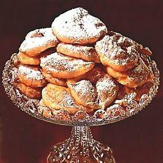 Dutch....appelflappen...we bake them for new years eve.... http://www.dekooktips.com/pic-rec/appelflap.jpg