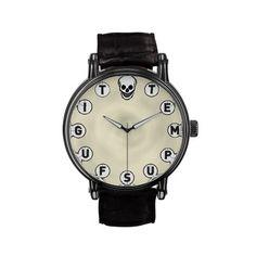 Tempus Fugit 2 Wristwatch