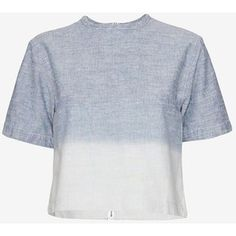 rag & bone/JEAN Grimsby Ombre Crop Top