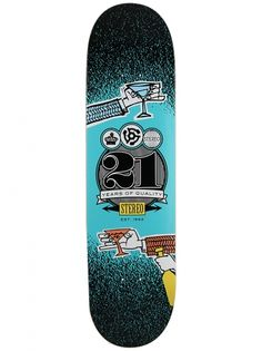 21 Years Cheers skateboard deck by Stereo  8.25