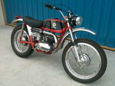 Bultaco Matador 250- I learned to ride on one of these when I was 7 (Dad's bike)