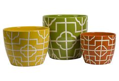 Pots for the sunroom #styledby