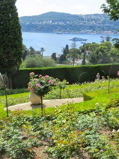 View from Villa Ephrussi de Rothschild