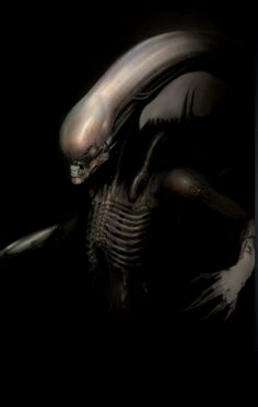 Prometheus did not feature any Xenomorphs, but the original script for the film did. Here's a sketch of one.