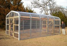 Greenhouse with ample space