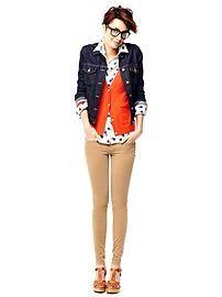 Andamos un tanto #blue (#jeans ) Chaqueta de  #Denim  #ideas de contraste para el #otoño2013 notamental: #supercorte de cabello