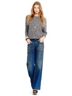 Cotton-Silk Sweater - Polo Ralph Lauren Crewnecks - RalphLauren.com