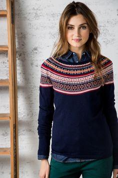 Fair Isle knit sweater by Springfield - mine