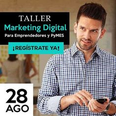 """#Taller de Marketing Digital para Emprendedores y PyMES del 28 de Agosto al 02 de Septiembre #CDMX -> http://www.clicacademy.com/taller-marketing-digital.html  #MarketingDigital #SoyMerca #SocialMedia #CommunityManager #RedesSociales #mercadotecnia #marketing #Mexico #CDMX #InboundMarketing #MarketingOnline #branding #cursos #talleres #diplomados"" by @clicacademy. #sweepstakes #contestalert #deal #discount #instasale #cc_double_o #spreesy #discounts #shawlcantik #ccdoubleo #product…"